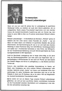 Richard Leibersberger