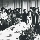 Ludwigsburger Studenten zu Besuch im Rathaus Montbéliard
