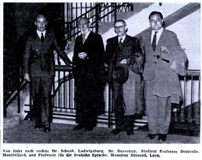 Delegation in Ludwigsburg