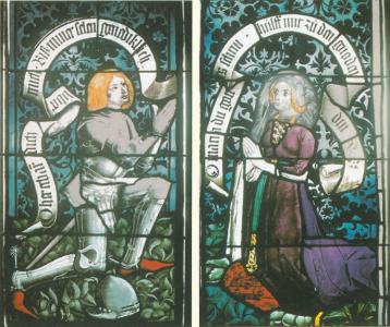 Glasfenster Tübingen