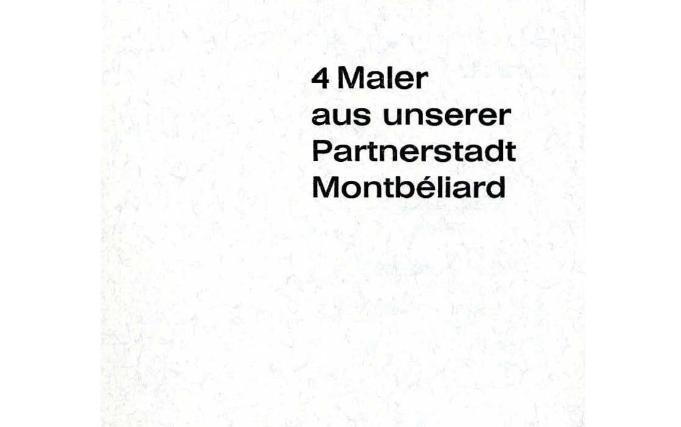 4 Maler aus Montbéliard