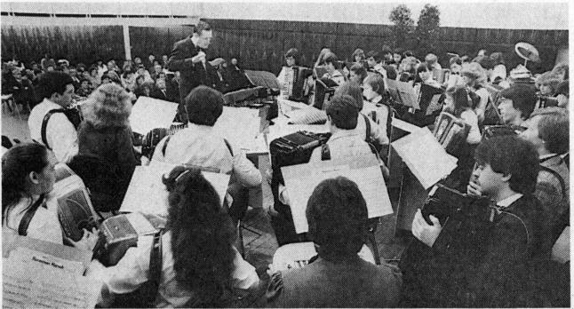 Gaste aus Monntéliard erfreuen mit Konzert